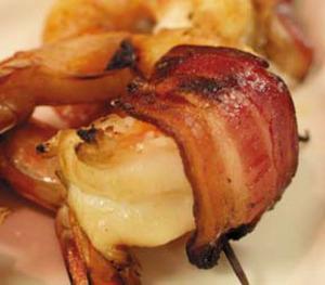 Shrimpwrappedinbacon